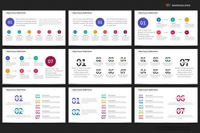 7 Bullet Points Powerpoint Template For Business Pitch Deck Professional Creative Powerpoint Icons 006