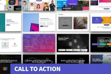 Call To Action Powerpoint Template For Business Pitch Deck Professional Creative Powerpoint Icons 001