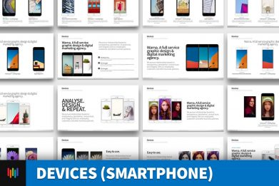 Devices Smartphone App Powerpoint Template For Business Pitch Deck Professional Creative Powerpoint Icons 001
