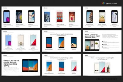 Devices Smartphone App Powerpoint Template For Business Pitch Deck Professional Creative Powerpoint Icons 006