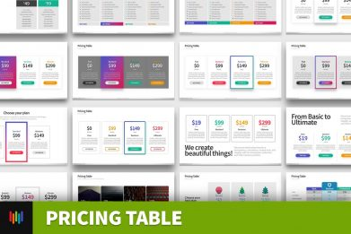 Pricing Table Comparison Powerpoint Template For Business Pitch Deck Professional Creative Powerpoint Icons 001