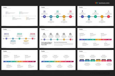 Project Timeline History Powerpoint Template For Business Pitch Deck Professional Creative Powerpoint Icons 006