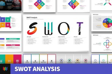 Swot Analysis Powerpoint Template For Business Pitch Deck Professional Creative Powerpoint Icons 001