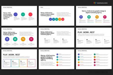 Services Seo Management Bullet Points Powerpoint Template For Business Pitch Deck Professional Creative Powerpoint Icons 006