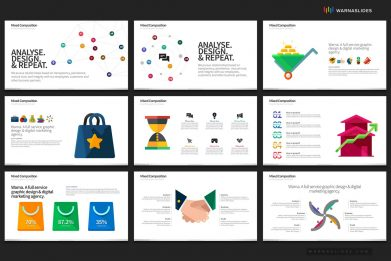 Social Media Graphics Digital Marketing Powerpoint Template For Business Pitch Deck Professional Creative Powerpoint Icons 006