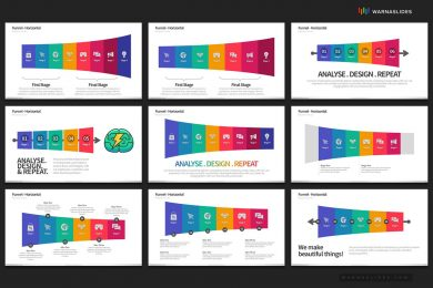 Funnel Reverse Funnel Diagram Powerpoint Template For Business Pitch Deck Professional Creative Powerpoint Icons 006