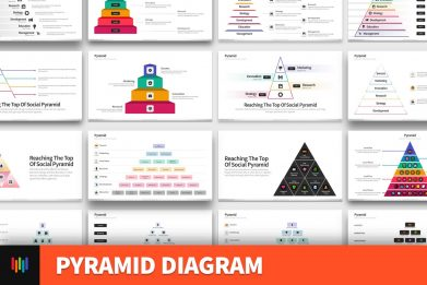 Pyramid Hierarchy Diagram Powerpoint Template For Business Pitch Deck Professional Creative Powerpoint Icons 001