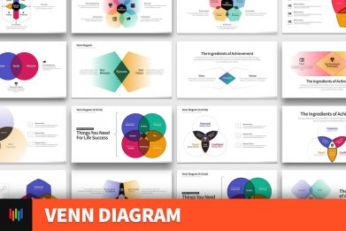 Venn Diagram Powerpoint Template For Business Pitch Deck Professional Creative Powerpoint Icons 001