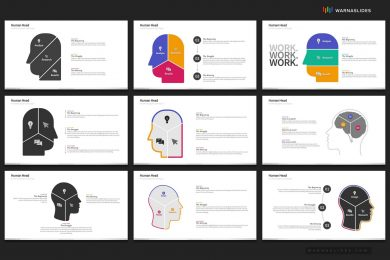 Human Head Ideas Brainstorm Powerpoint Template For Business Pitch Deck Professional Creative Powerpoint Icons 006