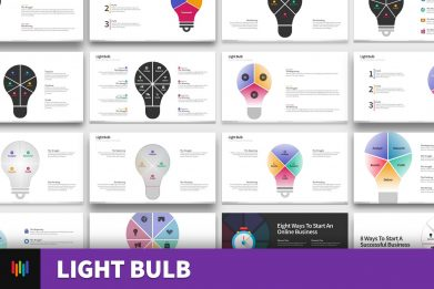Light Bulb Ideas Powerpoint Template For Business Pitch Deck Professional Creative Powerpoint Icons 001