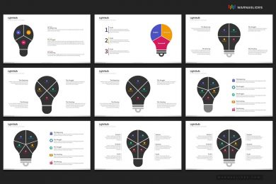Light Bulb Ideas Powerpoint Template For Business Pitch Deck Professional Creative Powerpoint Icons 006