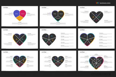 Love Heart Medical Powerpoint Template For Business Pitch Deck Professional Creative Powerpoint Icons 006
