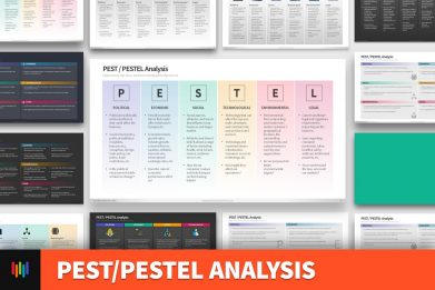 Pest Pestel Pestle Analysis Diagram Powerpoint Template For Business Pitch Deck Professional Creative Powerpoint Icons 002