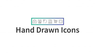 Hand Drawn Icons For Powerpoint Template For Business Pitch Deck Professional Creative Powerpoint Icons 002