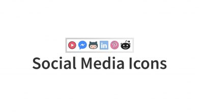 Social Media Icons For Powerpoint Template For Business Pitch Deck Professional Creative Powerpoint Icons 002